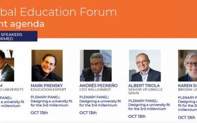 El futuro de la educación superior – Global Education Forum-SEK