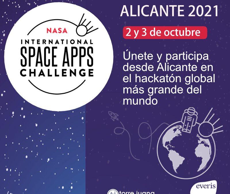 Space Apps Challenge 2021: el reto de la NASA vuelve a Alicante de la mano de everis NTT Data y Torre Juana OST