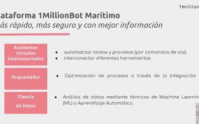 1MillionBot presenta al puerto de Valencia su plataforma para el transporte marítimo