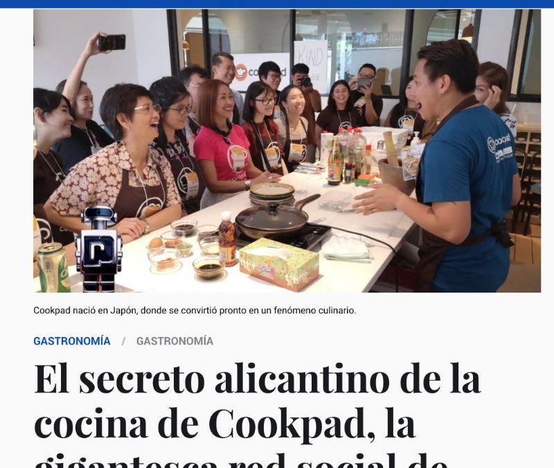 «El secreto alicantino de la cocina de Cookpad, la gigantesca red social de recetas nacida en Japón» – El Español