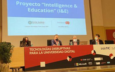 1MillionBot presenta «Intelligence & Education» en CRUE-TIC: revolucionar la calidad docente y éxito estudiantil