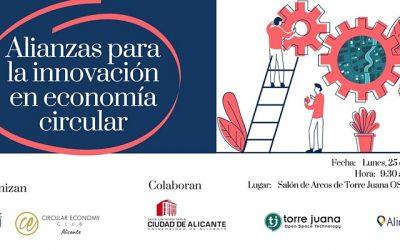 """Jornada """"Alianzas para la innovación en economía circular"""" en TJ OST"""