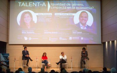Debate «las 20 de TJ» entre Ana Polanco y J.C. Diez: igualdad de género y despegue económico de España