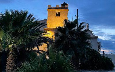 Torre Juana, cuatro siglos después, iluminada